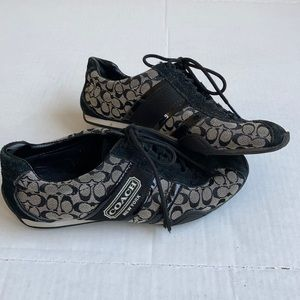 Coach Remonna black and gray sneakers